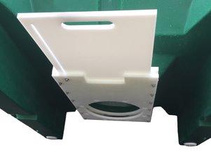Single Piece Plastic Hopper - Modern Electronics & Equipment, Inc